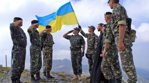 Українські бійці успішно пройшли військові навчання (ВІДЕО)