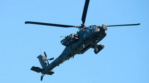 Apache американських ВПС вперше збив безпілотник з допомогою лазера