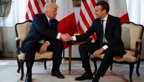 Президенти США та Франції обговорили спільно позицію щодо Сирії