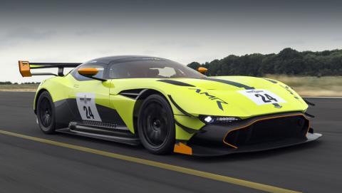 Aston Martin презентував оновлений суперкар Vulcan (ФОТО)