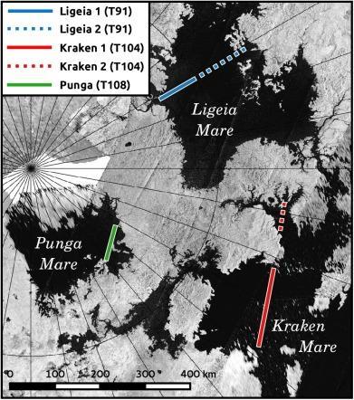 Озера Титана приховують таємничий острів