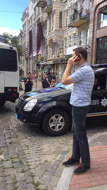 У центрі Києва була затримана група провокаторів (ФОТО)
