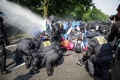 Стали відомі наслідки протестів у Гамбурзі