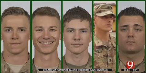 Військовослужбовці США не побоялися вогню, рятуючи життя українців (ВІДЕО)