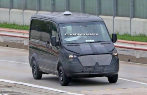 З'явилися нові шпигунські фотографії Mercedes-Benz Sprinter (ФОТО)