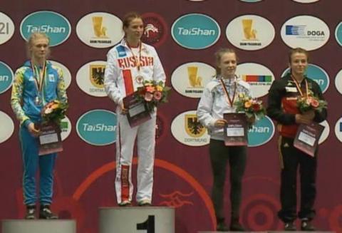 Українські юніорки завоювали дві медалі на чемпіонаті Європи з боротьби