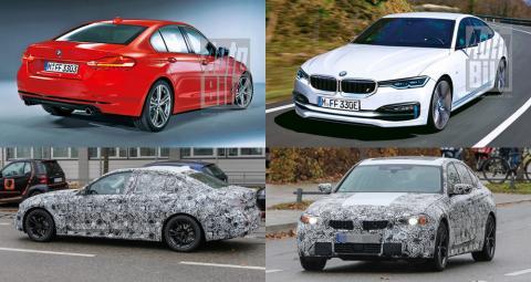 BMW готовий презентувати новий електричний седан 3-Series (ФОТО)