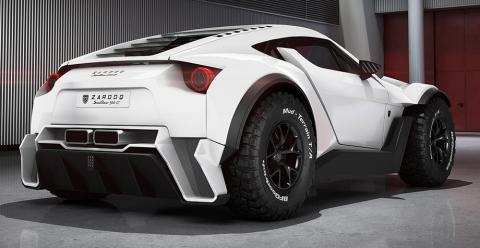 Компанія Zarooq Motors презентувала нестандартний суперкар SandRacer (ФОТО)