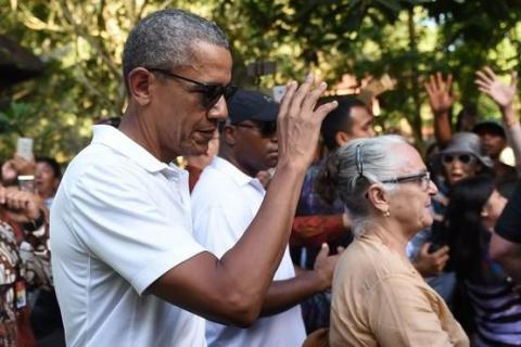 Як відпочиває екс-президент США в Індонезії (ФОТО)