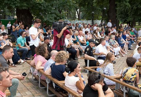 Поліцейський оркестр: як проходить відбір на міжнародний конкурс (ФОТО)