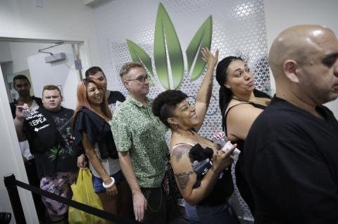 У штаті Невада легалізували марихуану у розважальних цілях