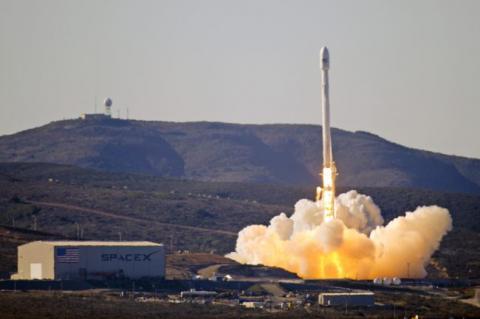 Запуск Falcon 9 був перенесений