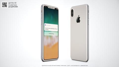 З'явився макет нового iPhone 8 (ФОТО)
