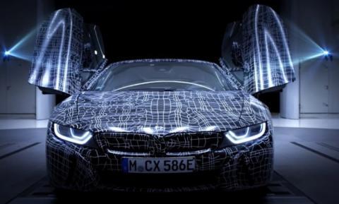 BMW офіційно розсекретив родстер i8 (ВІДЕО)
