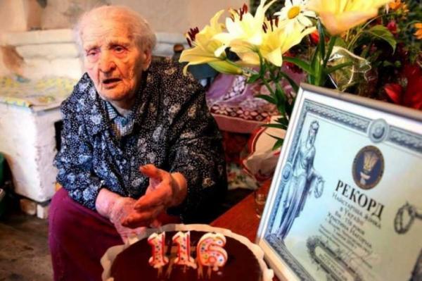Привіт з минулого: найстаріша українка святкує 117-ий день народження (ФОТО)