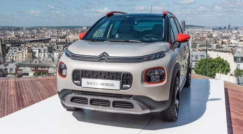 Citroen оголосив вартість нової моделі С3 Aircross (ФОТО)