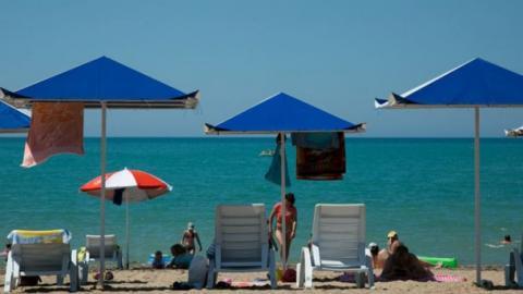 Міжнародна туристична компанія пропонує відпочинок в окупованому Криму