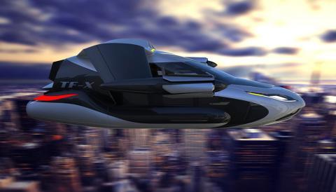 Geely викупила стартап з розробки літаючих автівок (ФОТО)