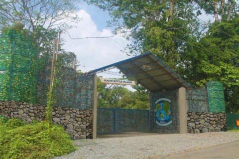 У Панамі чоловік збудував екоселище (ФОТО)