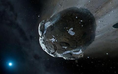 До Землі летить великий астероїд