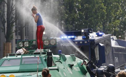 У Гамбурзі вирують протести (ФОТО)