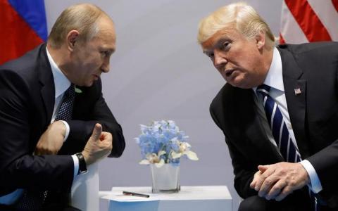 Трамп і Путін повторили кадр із культового серіалу (ФОТО)