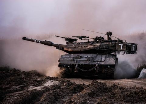 Ізраїльські танкісти навчилися бачити крізь корпус