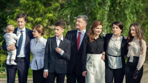 День сім'ї: Порошенко поділився родинною ідилією (ФОТО)