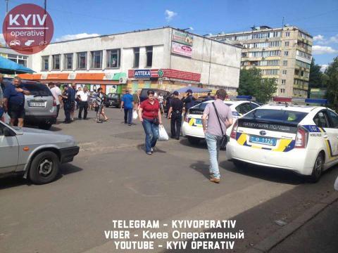 Стрілянина в Києві: є жертви (ФОТО)