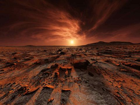 Шотландські науковці розповіли, що люди не зможуть жити на Марсі