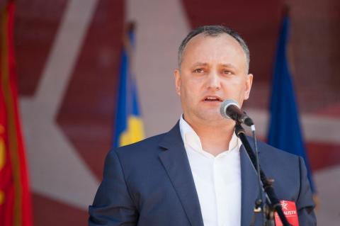 Президент Молдови Додон виступив проти вступу до НАТО