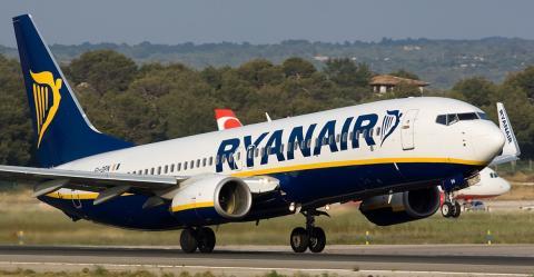 Ryanair скасував запланований вихід на український ринок