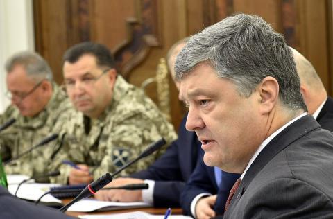 На закупівлю нової зброї та техніки планується виділити 1,6 млрд грн — Порошенко