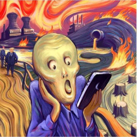 Adobe зробив конкурс інтерпретацій картини «Крик» (ФОТО)