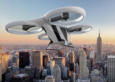 Airbus готовий випробувати у Європі міське аеротаксі