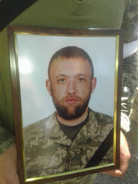 Україна попрощалася з молодим військовим ЗСУ (ФОТО)
