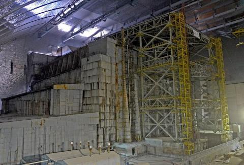 «Укриття» над зруйнованим реактором ЧАЕС, є ймовірність обвалу