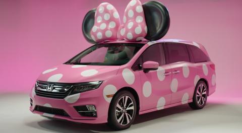Honda презентувала жіночу модифікацію Odyssey (ВІДЕО)