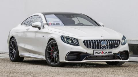 У Мережі з'явилися перші рендери нового Mercedes-Benz S-Series AMG (ФОТО)