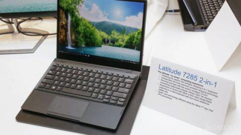 Ноутбук Dell Latitude 7285 отримав бездротову зарядку