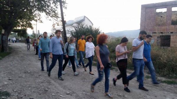 У Грузії протестували проти агресії Росії (ФОТО)