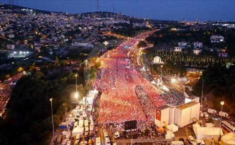 Туреччина: тисячі людей взяли участь у мітингах (ФОТО)