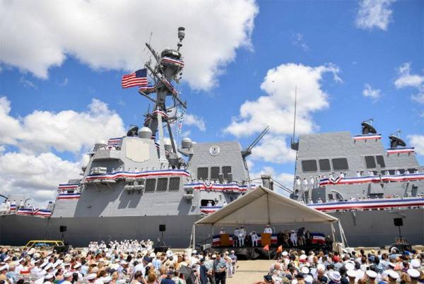 Зброя майбутнього: у США ввели у стрій унікальний есмінець (ФОТО)