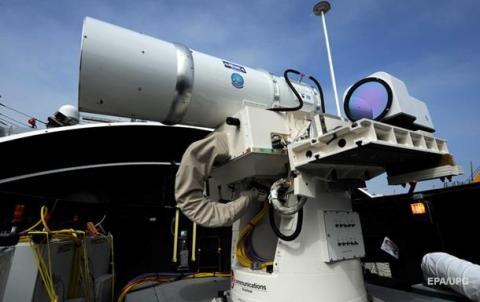 У США вперше у світі випробували активну лазерну зброю