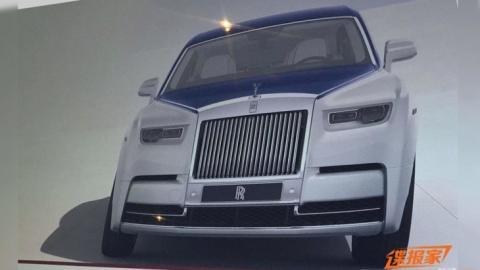 Журналісти розсекретили новий Rolls-Royce Phantom (ФОТО)