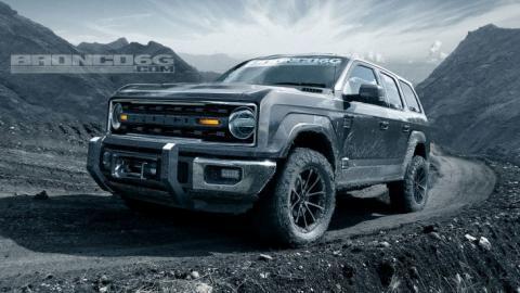 Ford вирішив відродити агресивний позашляховик Bronco (ФОТО)