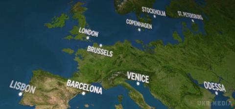 Величезний льодовик: які міста повністю затопить