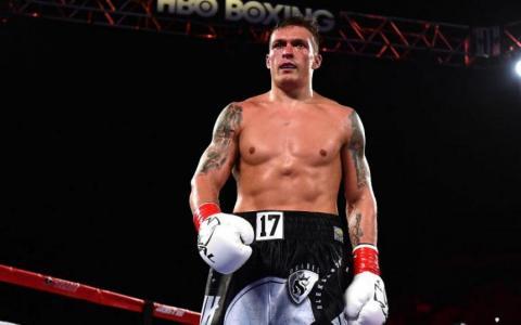 Усик визнаний найкращим боксером світу серед важковаговиків
