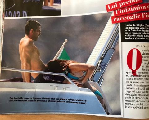 В Італії стався скандал навколо фотографії Буффона (ФОТО)