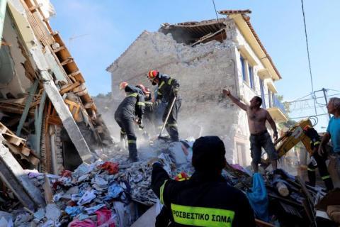 У Греції стався потужний землетрус, є загиблі